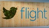 Twitter flight living sign