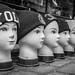 Seven heads by Per Gosche