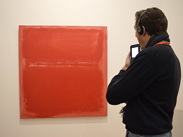 Mark Rotko, GemeenteMuseum Den Haag.