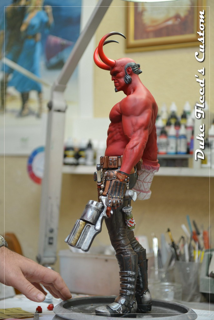 Hellboy 1/4 by Narin  15448382259_0a033cef28_b