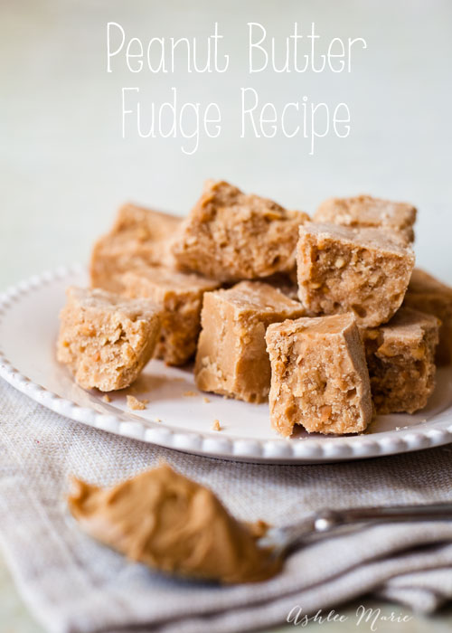 this fudge recipe is easy to make and tastes amazing, especially when you use crunchy peanut butter