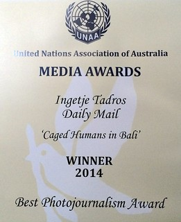 Award received from the United Nations (AUS)