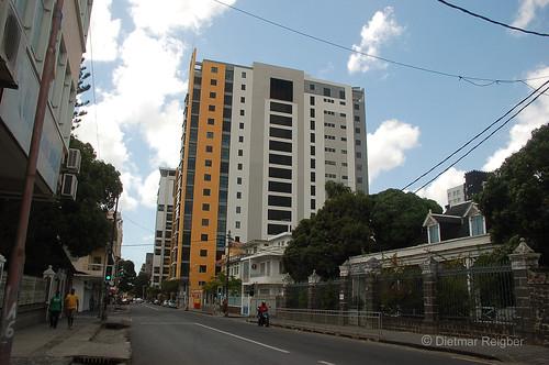 skyline skyscraper mauritius portlouis ilemaurice mauritiusportlouis inselmauritius capitalcityofmauritius skyrisetower hauptstadtvonmauritius