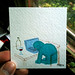 Tiny Painting 30 by Phil McAndrew