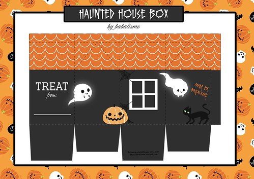 babalisme halloween 2014 haunted house box
