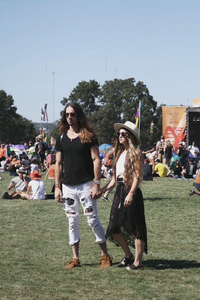 Fringe of the Cro | Fashion at ACL fest
