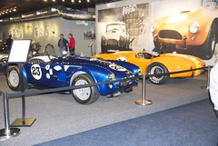DSC_0819 Shelby Cobras #23 and #24, and Mr Serb lead museum founder