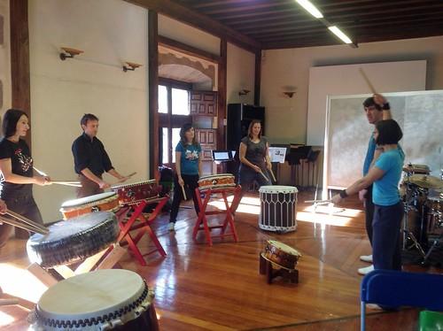 Taller de Taiko en el País Vasco