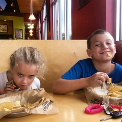 Salsaritas is their fave.
