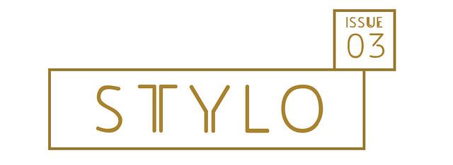 Stylo logo gold