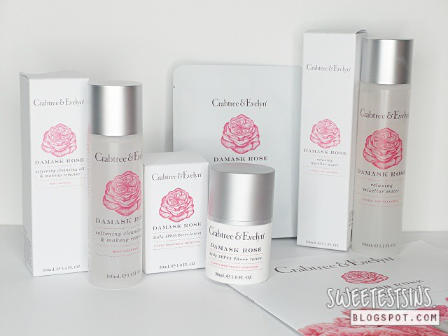 crabtree & evelyn damask rose review