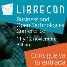 Cartel anunciador de LibreCon 2014.