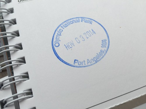 Olympic National Park Cancellation Stamp (Passport Book)