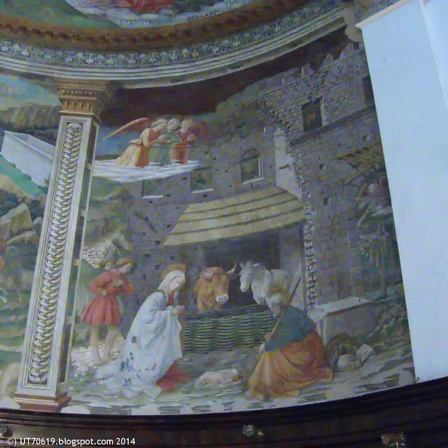 Spoleto - Dom - Christi Geburt