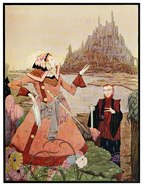 014-La bella durmiente del bosque-The fairy tales of Charles Perrault-1922- Harry Clarke