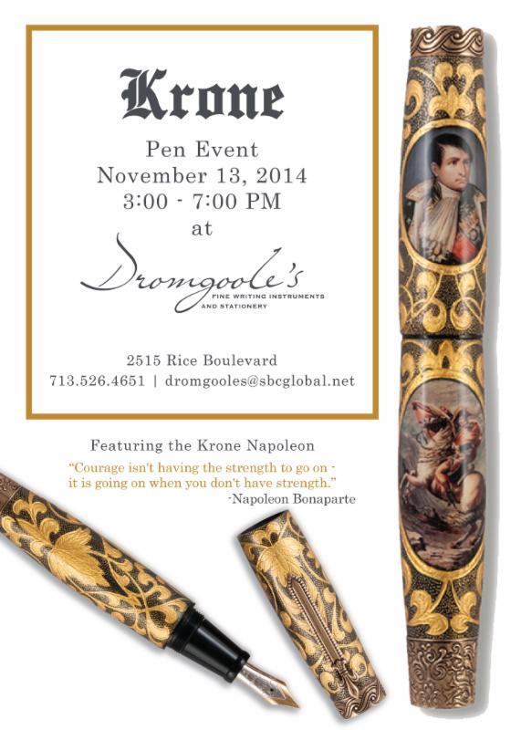 Krone Pen Event - Dromgoole's