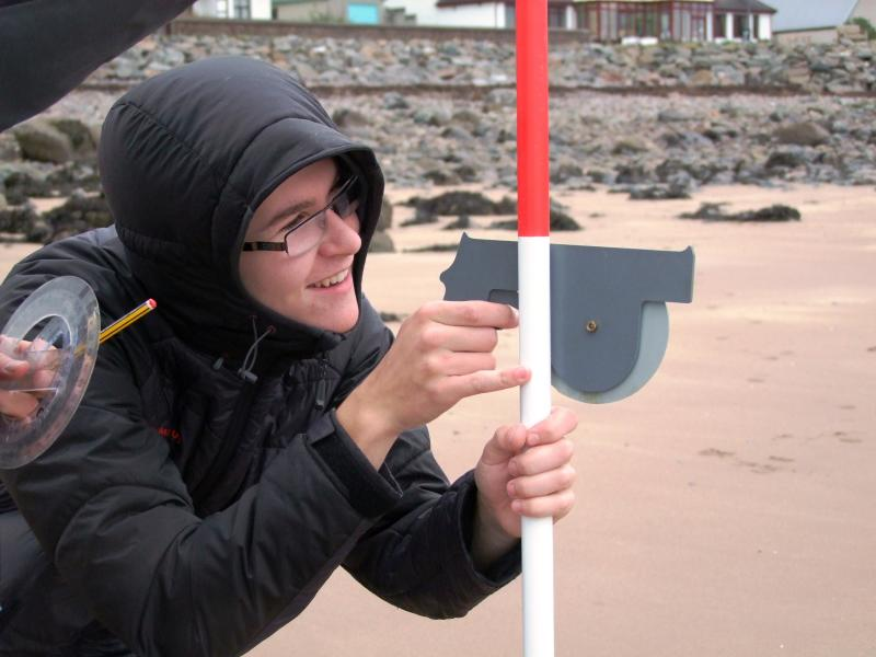 Using a clinometer