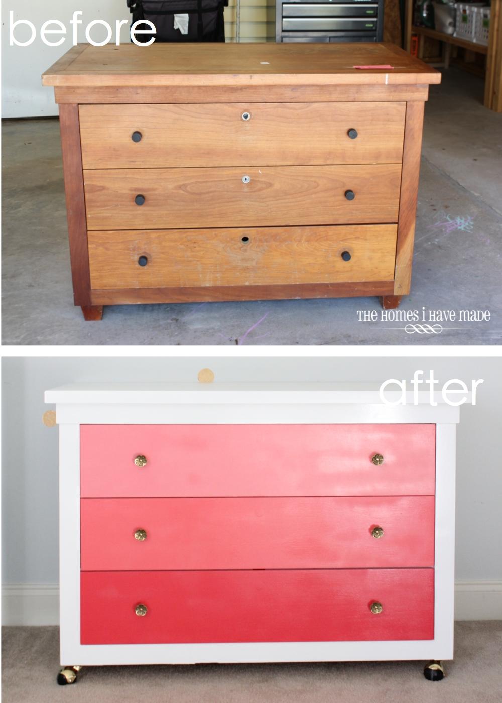 Pink Ombre Dresser-020