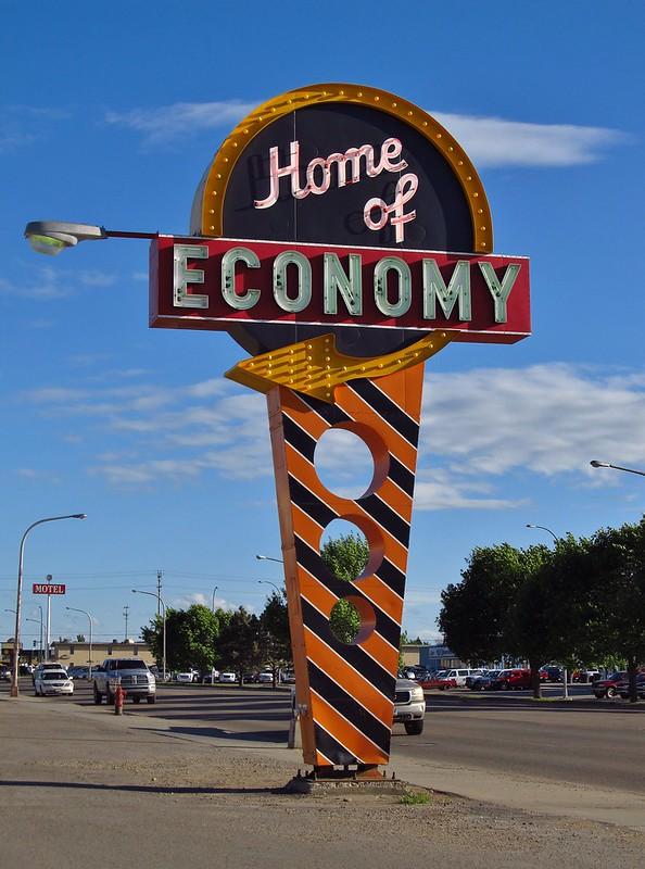 Home of Economy - 2102 2nd Avenue West, Williston, North Dakota U.S.A. - June 16, 2013