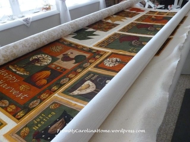 Autumn mulit quilting 3