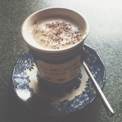 Hazy, lazy #Saturday #afternooncoffee ~ a #cappuccino at the best #cafe in town: Maison de Moi