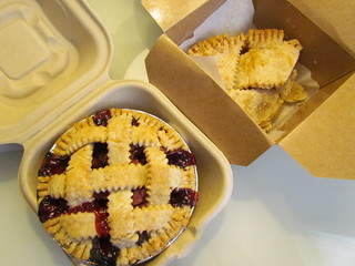 Cherry Almond Pie and Apple Pie from High 5