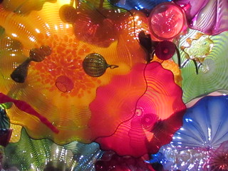 Chihuly Exhibit at Seattle Center - Persian Ceiling