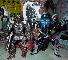 """NINJA TURTLES"" Movie :: SHREDDER  { tOKKustom MOVIE MANIAC } xvii / ..with TMNT MOVIE SHREDDER '07 (( 2014 ))"