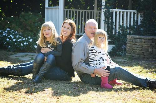 Catie, me, Chris & Lucy