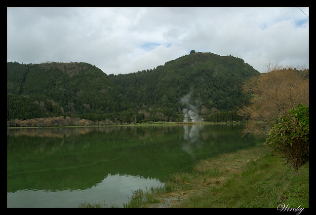 El lago de Furnas