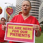 Strikes by Kaiser, Tracy, Watsonville RNs Kick Off Actions for Patient Safety and Ebola Precautions