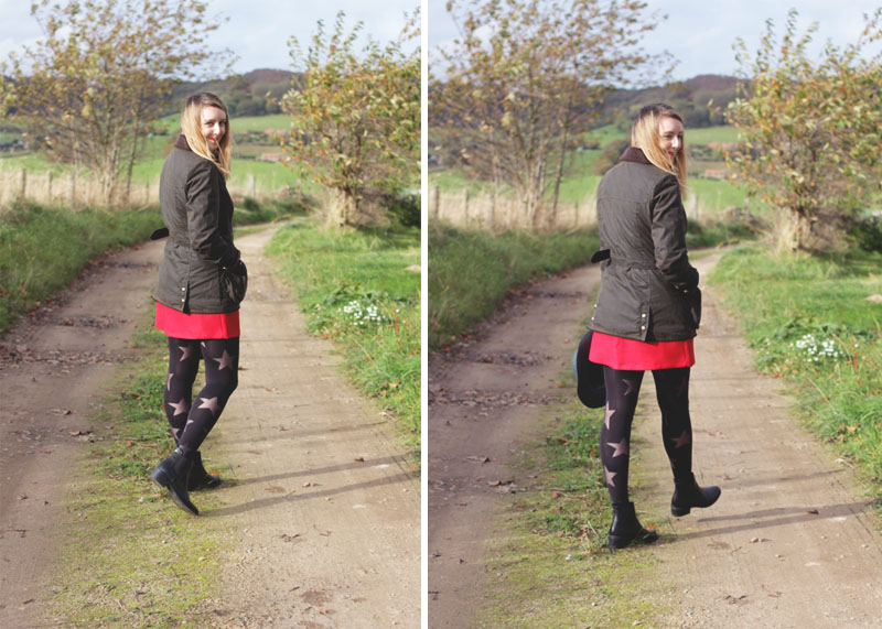 Yorkshire country outfit, Bumpkin Betty