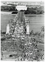 Antiwar Crowd Heads to Pentagon: 1967