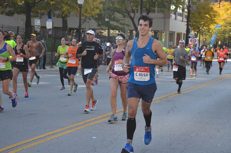 The Chicago Marathon 2014