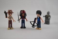 Custom LEGO Friends - The Walking Dead