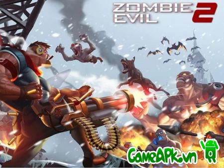 Zombie Evil 2 v1.0.9 hack full vàng & đá quý cho Android