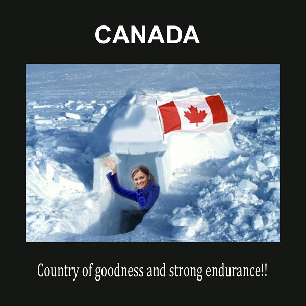canada igloo | Canada stay strong | Hermione | Flickr