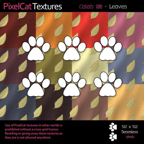 PixelCat Textures - Colab 108 - Leaves