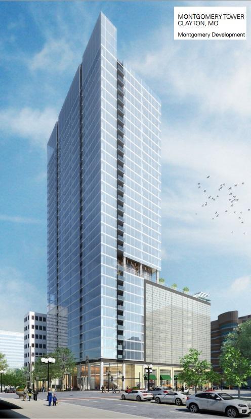 Clayton St Louis Montgomery Tower 31 Floors 352