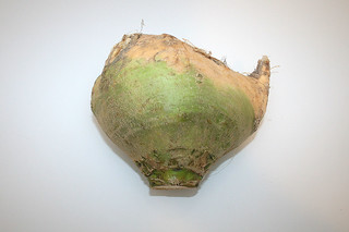 01 - Zutat Steckrübe / Ingredient turnip