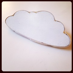 It's a cloud with a silver lining. Geddit? I'll stop with the cloud pictures now...