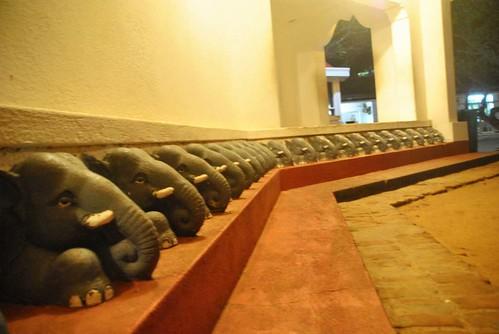 127 Atardecer en la playa, fiesta con locales y anochece en el templo en Kirinda (43)
