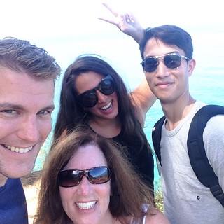 Group Selfie on Kalalau Trail