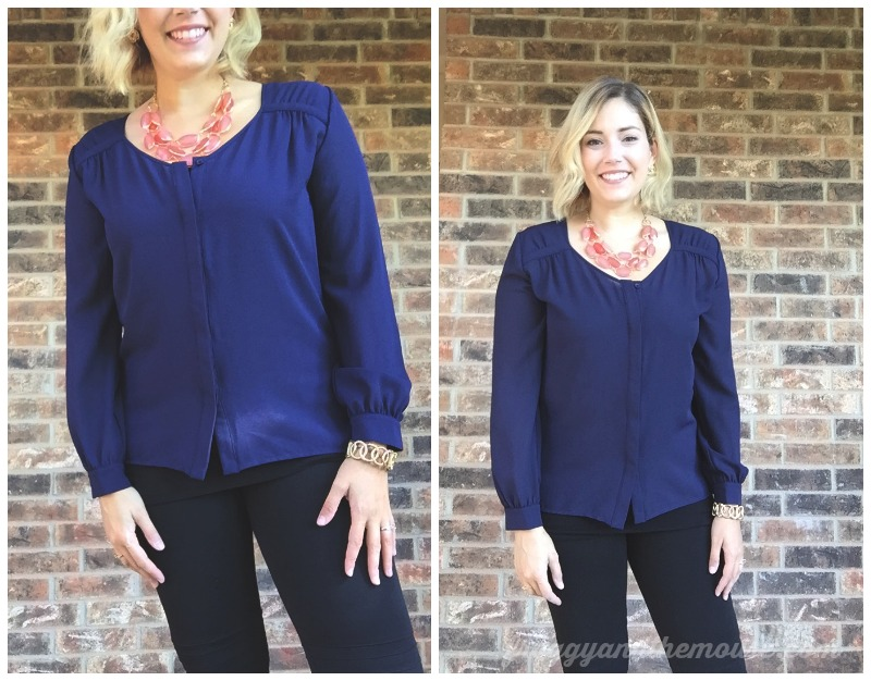 19 Cooper Lincoln Button Up Longer Sleeve Blouse Stitch Fix