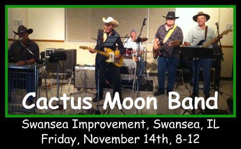 Cactus Moon Band 11-14-14