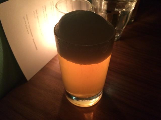 Saison Dupont beer - Little Serow