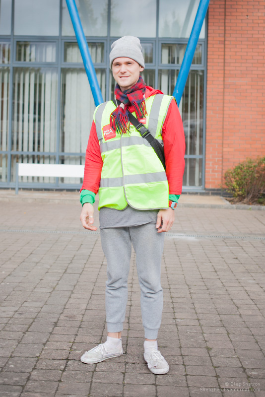 Dublin RSA high visible jacket