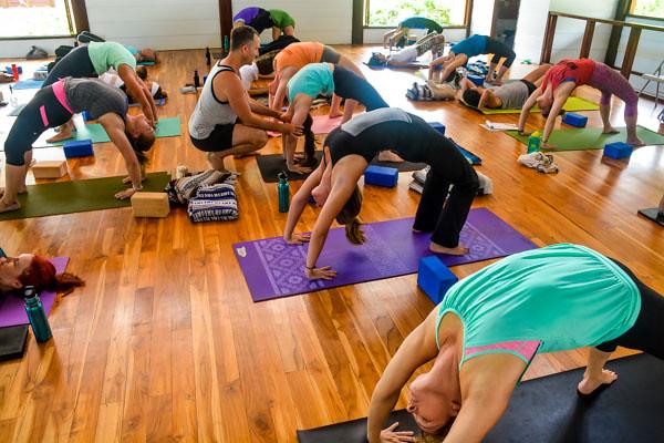 Yoga Teacher Training in Costa Rica Backbends