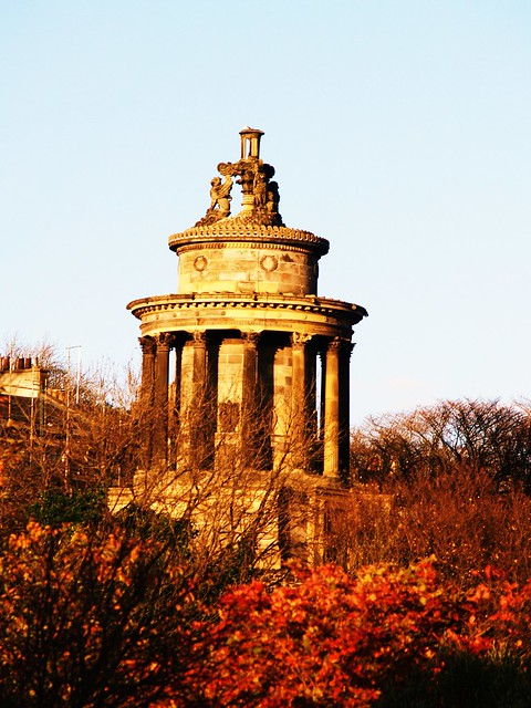 Robert Burns Monument, Edinburgh, Scotland