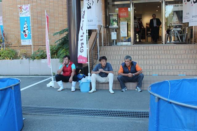 Bas en Kitty @ Nagaoka koi show 2014